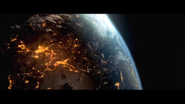Realistic Planet Earth E3D Element After Effects Projekt