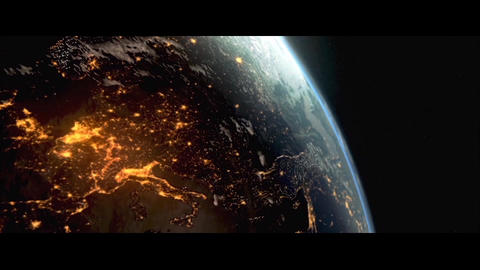 Realistic Planet Earth E3D Element After Effects Template