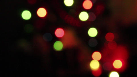 Close-Up Of Colored Bokeh Lights Live Action