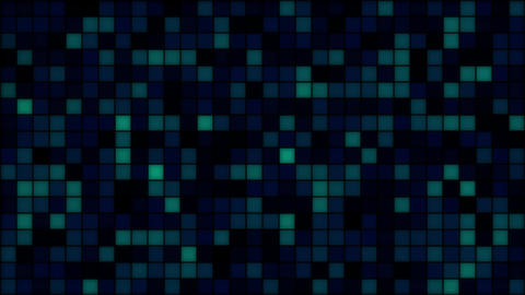 Mov214 abstract pixal mosaic loop 07 CG動画