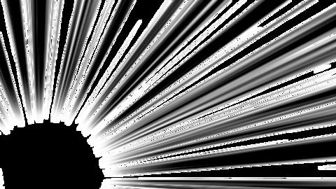 Concentration-line-corner-black Animation