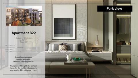 Real estate slideshow Premiere Pro Template