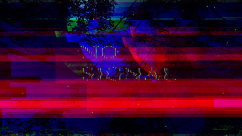 No signal, message with glitch effect. Abstract Digital Animation Pixel Noise Glitch Error Video Animation