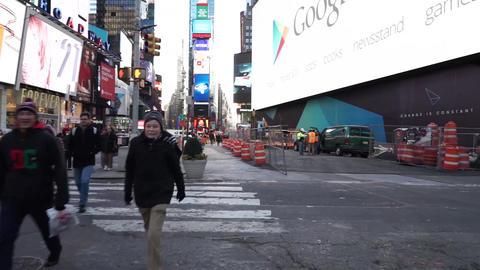 NewYorkストリートタイムズスクエア003 ビデオ