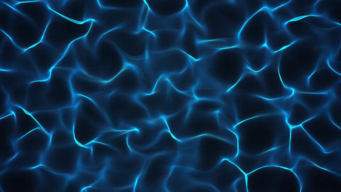 Abstract background in blue on black Animation