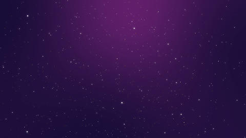 Purple background with flickering lights Animation
