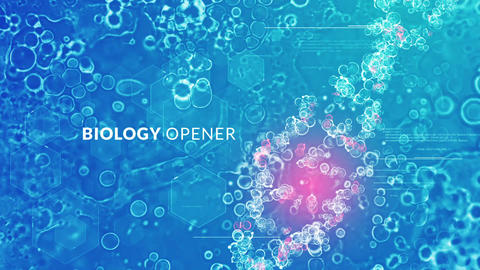 Biology Opener After Effects Template