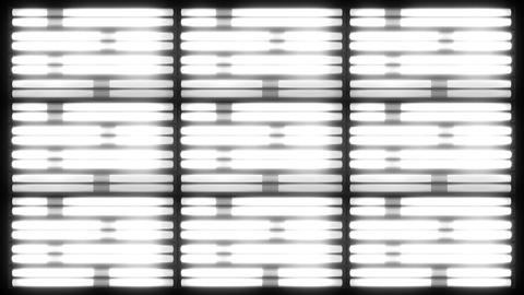 Fluorescent Lights Chase Grid Seamlessly Looping Video Background Animation