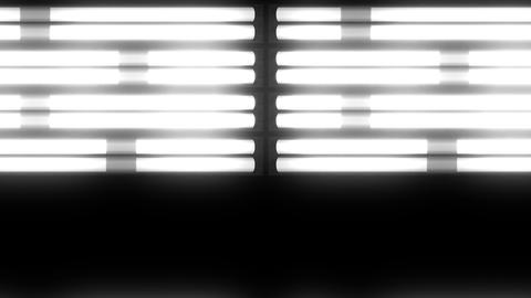 Fluorescent Lights Chase Double Moving Seamlessly Looping Video Background Animation