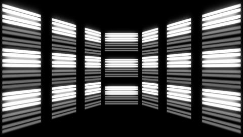 Fluorescent Lights Flicker Multi Seamlessly Looping Video Background Animation