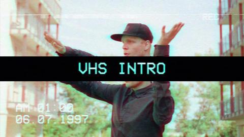 VHS Intro Premiere Proテンプレート