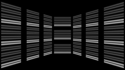 Fluorescent Lights Sequence Multi Seamlessly Looping Video Background Animation