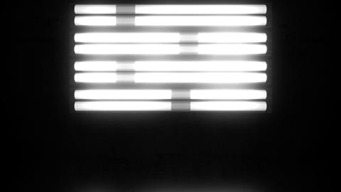 Fluorescent Lights Chase Single Moving Seamlessly Looping Video Background Animation