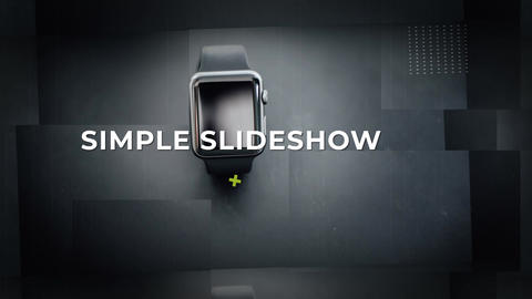 Simple Slideshow After Effects Template