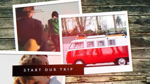 Travel Memories Slideshow Plantilla de Apple Motion