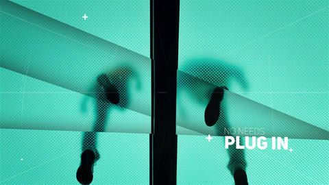 Clean Parallax Slideshow After Effects Template