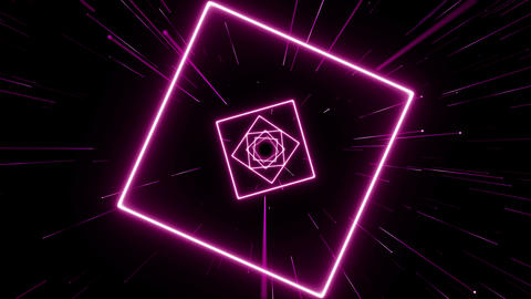VJ light event concert dance game magic music videos stage party abstract led neon tunnel background Animation