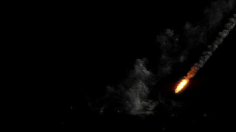 Meteor Shower Animation