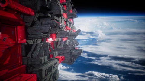 motherships taking position over Earth for a coming invasion Live Action
