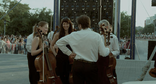 A professional Symphony orchestra. The fellowship of... Stock Video Footage