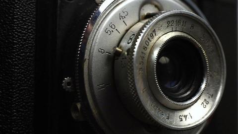 Retro Vintage Camera Footage
