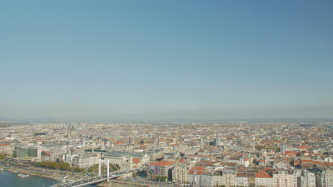 Budapest Architecture Cityscape View Live Action