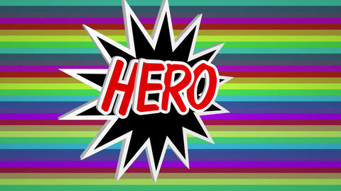 Hero comic Live Action