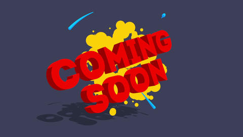 Coming soon-Toon Text Animation