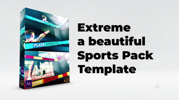 Extreme Sports Promo Pack After Effects Template