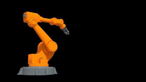 Robotic Arm with a Placeholder Animation
