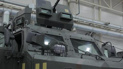 Armored Machine Gun Live Action