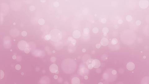 Dreamy light pink bokeh background Animation