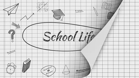 School Life Apple Motion Template