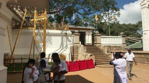 Anuradhapura, Sri Lanka, event in temple 6 part Live Action