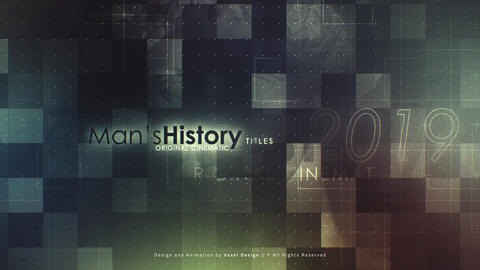 Men's History Timeline After Effects Template
