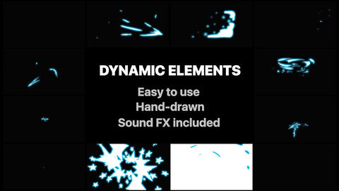 Dynamic Elements After Effects Template