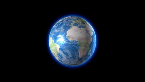 Earth with Alpha Animation