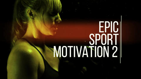 Epic Sport Motivation 2 Premiere Pro Template