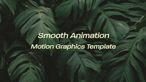 Modern Elegant Clean Titles Motion Graphics Template