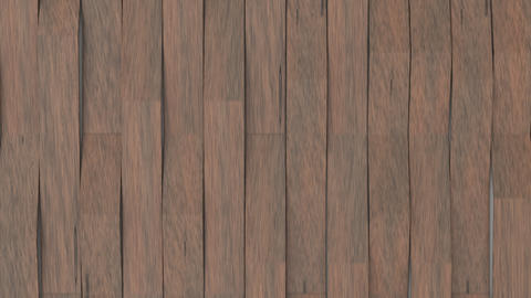 1067 3D rendering of wooden gloss plastic waves GIF