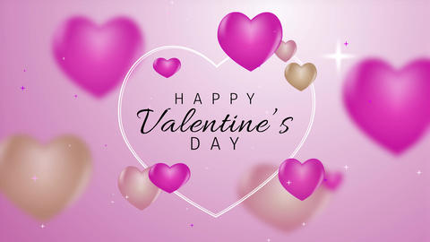 ValentineDayElegantTitle Motion Graphics Template