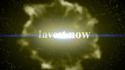Invest now-Energy Burst Animation