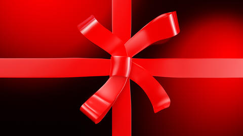 Abstract background of a closing gift Animation