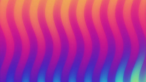 Colorful wave gradient loop animation. Future geometric patterns motion Live Action