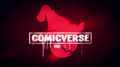 ComicVerse Vol 2 Logo Reveal After Effects Template