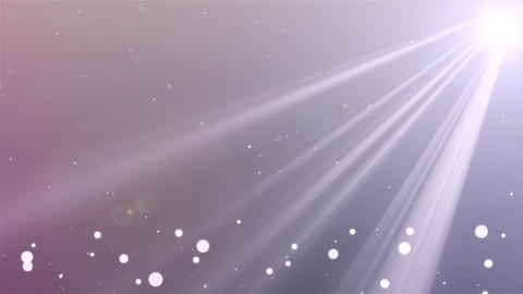 Falling white Particles seamless background Loop…, Banco de Videos Animados
