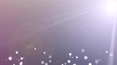 Falling white Particles seamless background Loop animation Background ビデオ