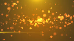 Abstract Golden Blinking Particles motion backgrounds Animation