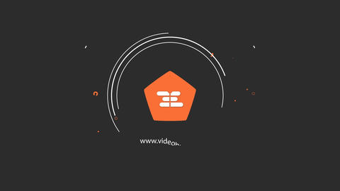 2D Flat Logo Reveal After Effects Template