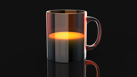 Coffee concept - 3D Animation Animation